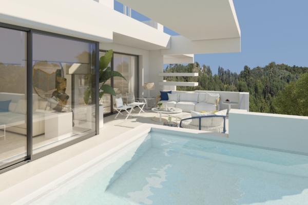 3 Спальня, 3 Ванная Апартамент Продается в La Meridiana, Golden Mile