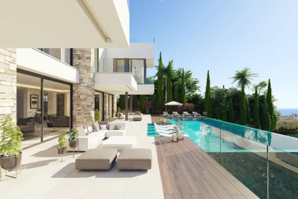 8 Sovrum, 11 Badrum Villa Till Salu i Los Flamingos, Benahavis