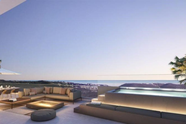 3 Bedroom, 3 Bathroom, Penthouse for Sale in One Residences, Mijas