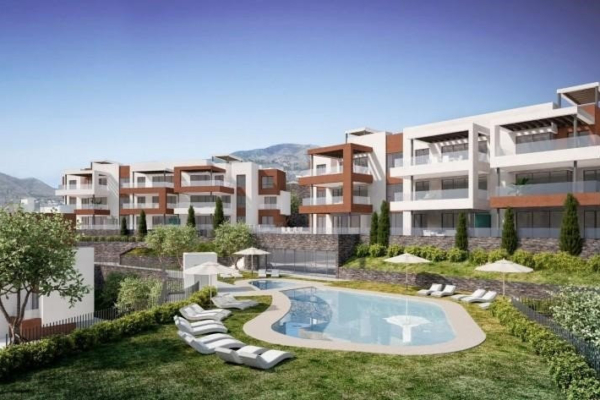 3 Bedroom, 2 Bathroom, Apartment for Sale in Middle Views, Fuengirola