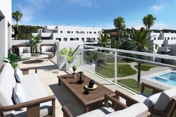 3 Bedroom, 2 Bathroom Penthouse For Sale in El Lagar de Quabit, La Cala de Mijas