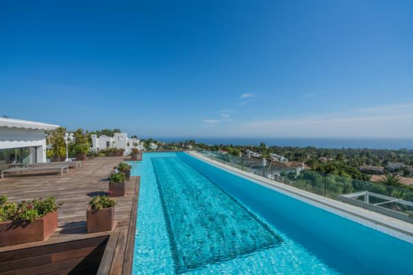 5 Bedroom5, Bathroom Penthouse For Sale in Reserva de Sierra Blanca, Marbella Golden Mile