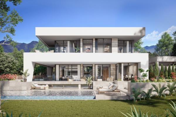 4 Bedroom, 4 Bathroom, Villa for Sale in Villa Cala Natura, Marbella
