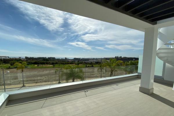2 Schlafzimmer, 2 Badezimmer Penthaus Zum Verkauf in Le Mirage, New Golden Mile, Estepona