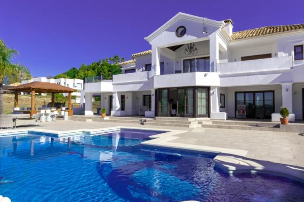 7 Sovrum, 6 Badrum Villa Till Salu i Marbella Club Golf Resort, Benahavis