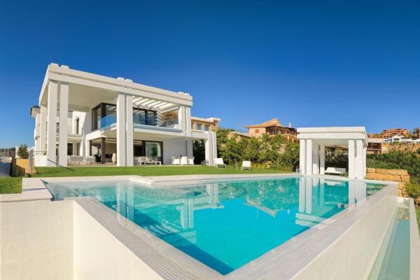 5 Chambre, 5 Salle de bains Villa A Vendre danse Los Flamingos Golf, Benahavis