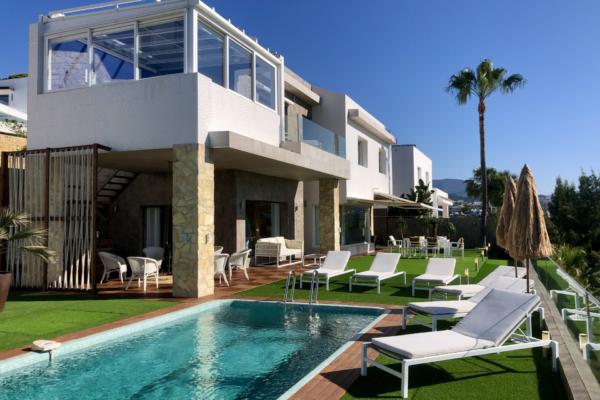 3 Sovrum, 3 Badrum Villa Till Salu i La Alqueria, Benahavis